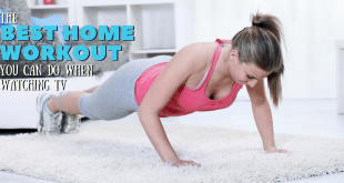The Best Home Workout You Can Do When Watching TV